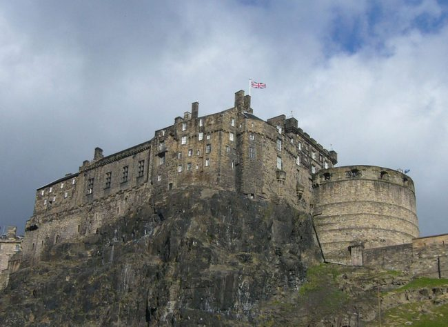 Edinburgh castle kedron